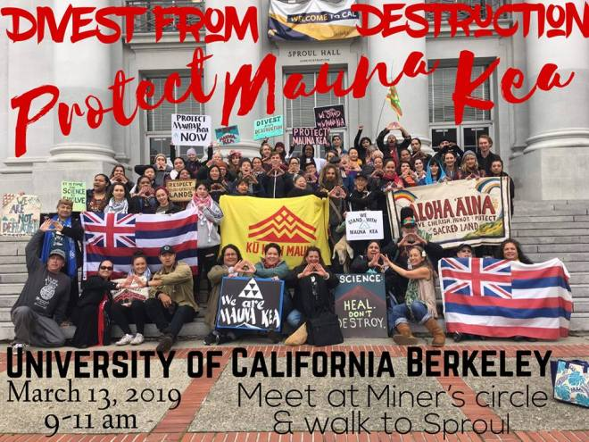 Berkeley Mauna Kea Awareness